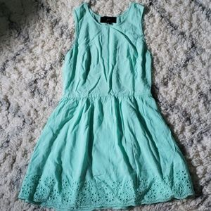 Mint fit and flare Jack by BB Dakota